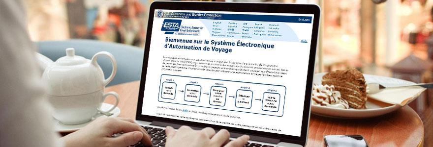 Le processus de demande d autorisation de voyage ESTA